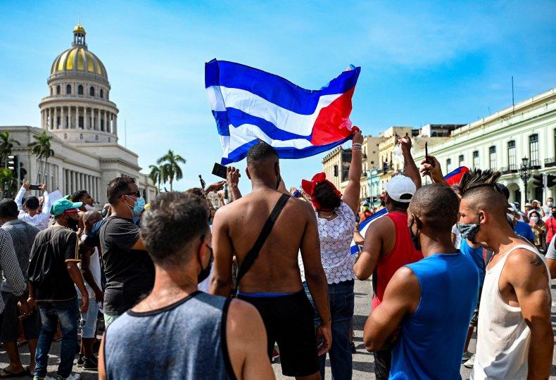 Cuba Protest Videos Show Thousands Demand End to Communist Dictatorship 1