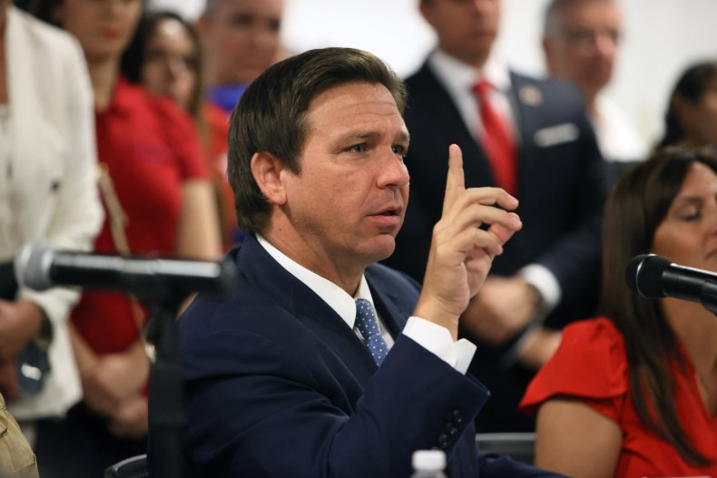 Ron DeSantis Says 'It's Not Healthy' for Students to Wear Masks Amid New CDC Guidance 1