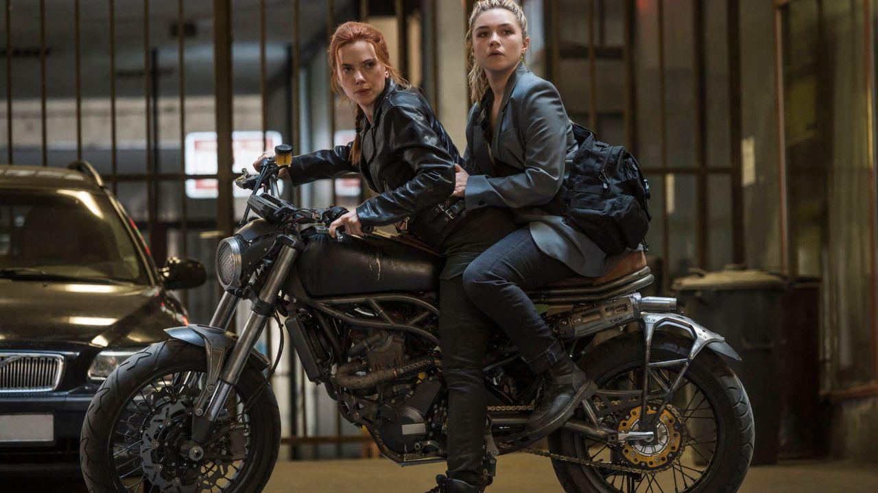 'Black Widow' sets pandemic box-office record 1