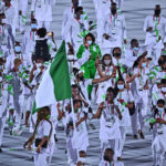Nigerians banned from Olympics for missed doping tests protest in Tokyo 5