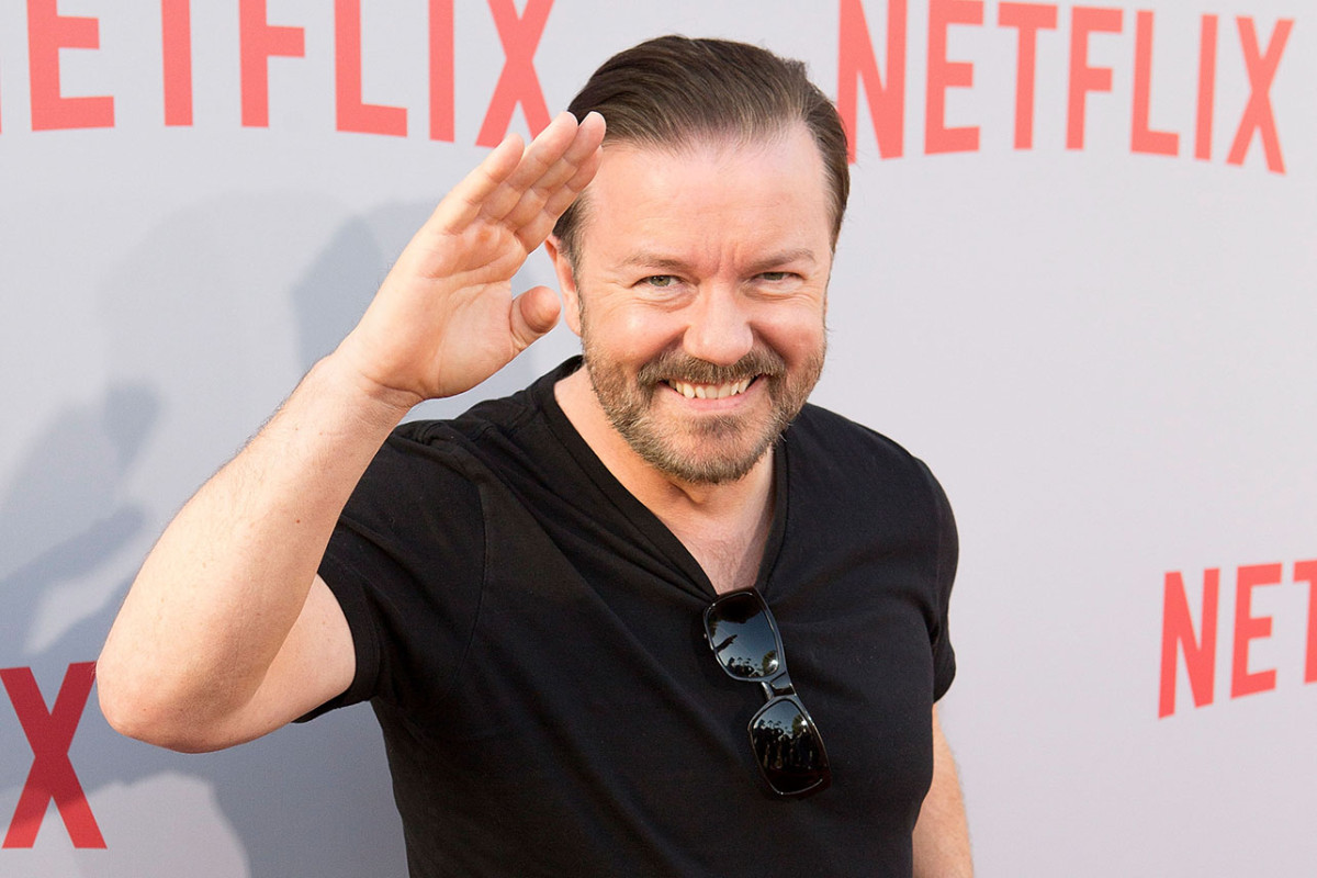 Thanks World: Ricky Gervais Had To Clarify His Cancel Culture Remarks About 'The Office' 1