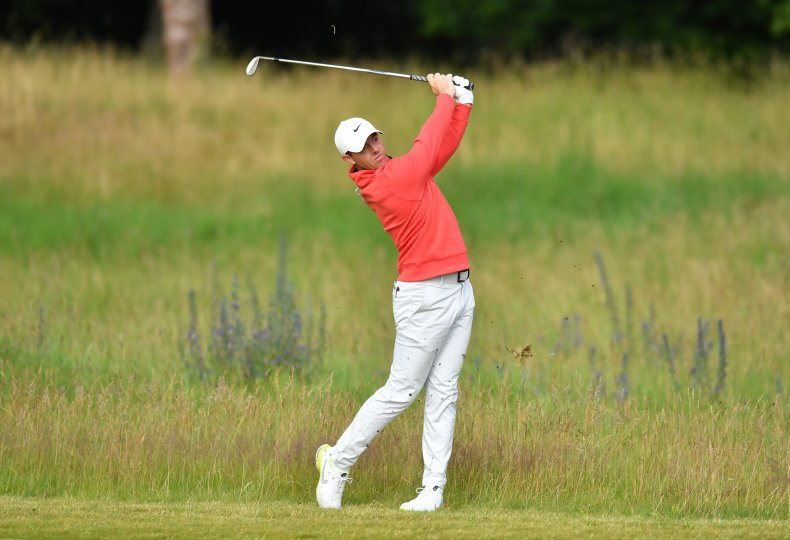Bystander Casually Takes Rory Mcllroy's Golf Club at Scottish Open 1
