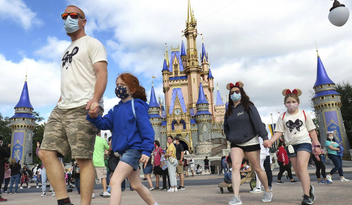 Disney World in Florida reimposes indoor mask rule; reversal comes amid local surge, CDC revision 1