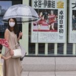 Tokyo reports record coronavirus cases days after the Olympics begin 6