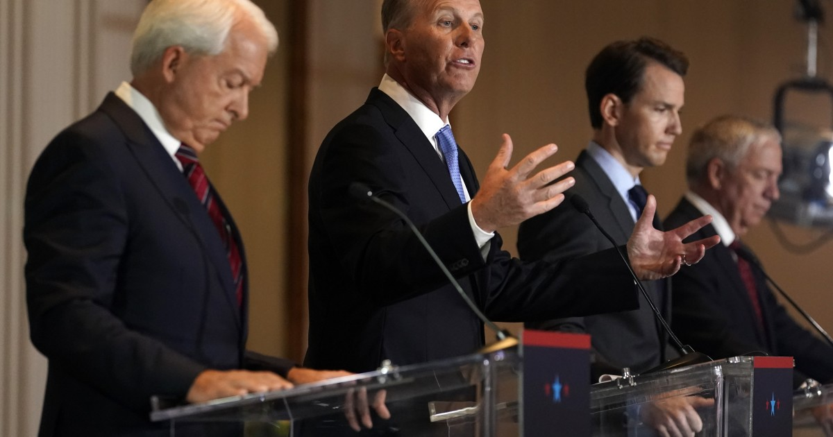 Republicans go after Newsom, mask mandates and critical race theory in recall debate 1