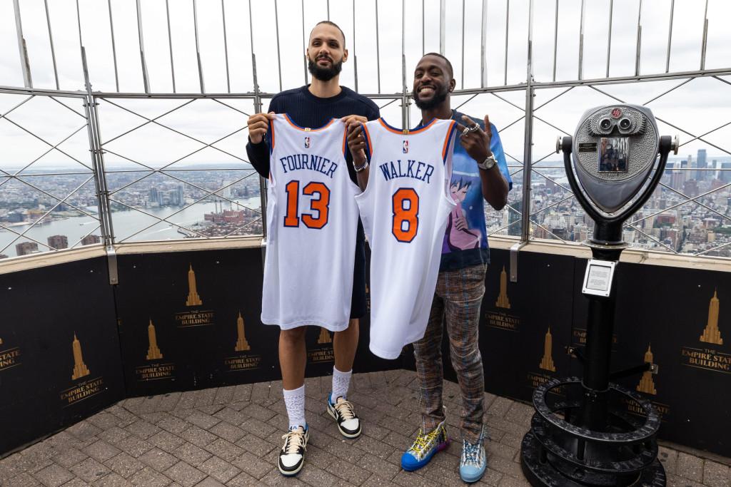 Knicks' new backcourt will debut against former team in NBA season opener 1
