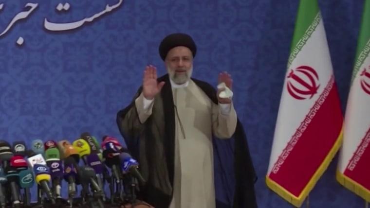 As Iran's hard-line new president takes office, Biden faces tough choices 1