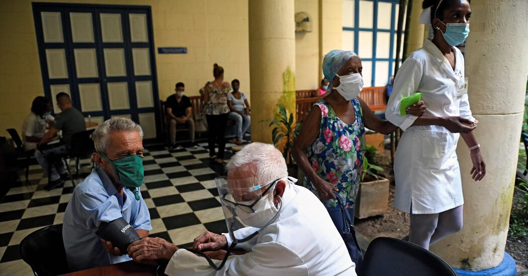 Overwhelmed by Coronavirus, Cuba's Vaunted Health System Is Reeling 1