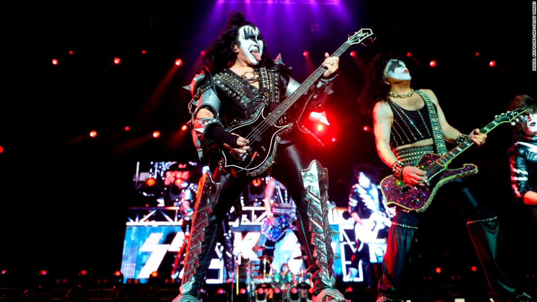 KISS postpones shows after band members test positive for Covid-19 1