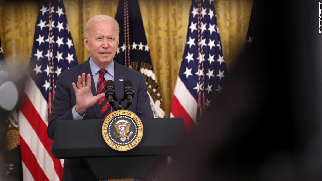 Analysis: Biden shows he's ready to make drastic moves in Covid-19 fight -- even if he's not sure they're legal 1