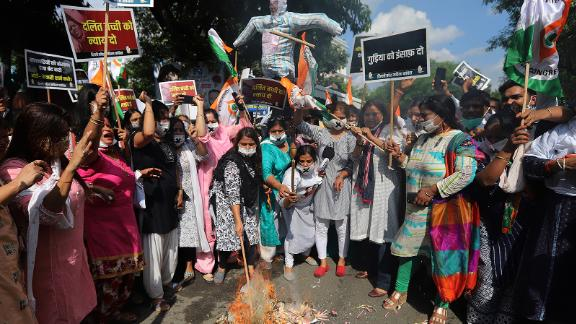 Fourth day of protests after 9-year-old girl allegedly raped and murdered in Indian capital 1