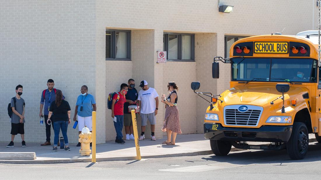 A teacher is suing an Arizona school district for implementing a mask mandate despite governor's ban 1