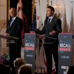 Republicans vying to replace Newsom in California recall attack his handling of Covid-19 in debate 7