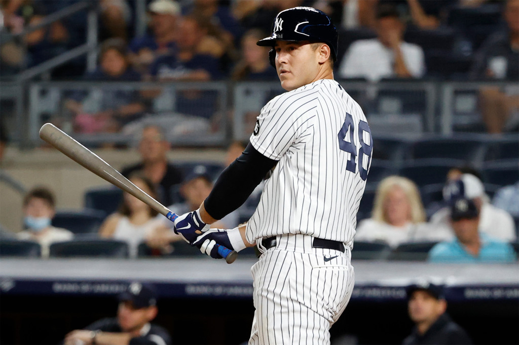 Anthony Rizzo takes big Yankees step after being 'knocked out' by COVID-19 1