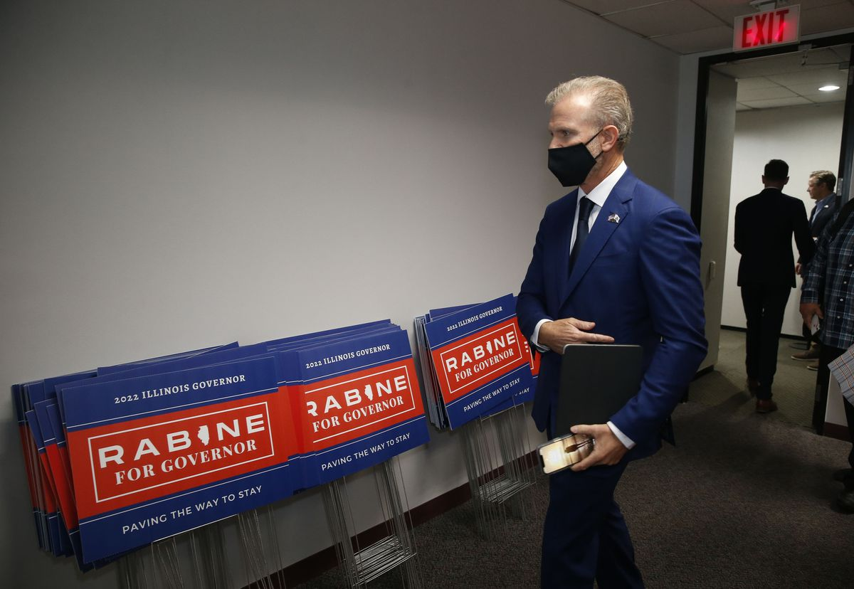 GOP governor candidate Gary Rabine skews Danish study's findings to attack Pritzker's school mask mandate 1