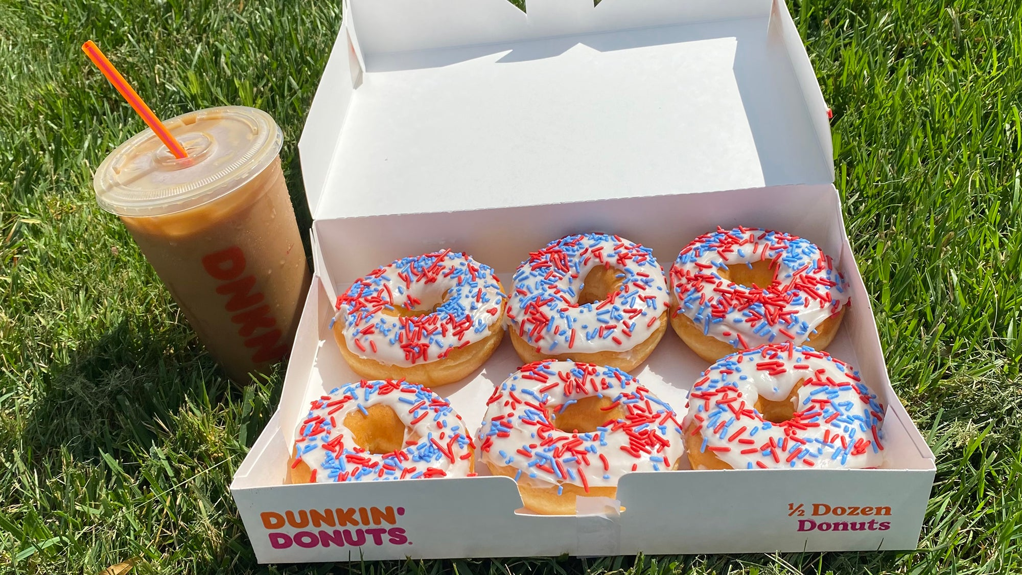 Dunkin' launched a limited-edition Patriots-inspired doughnut 1