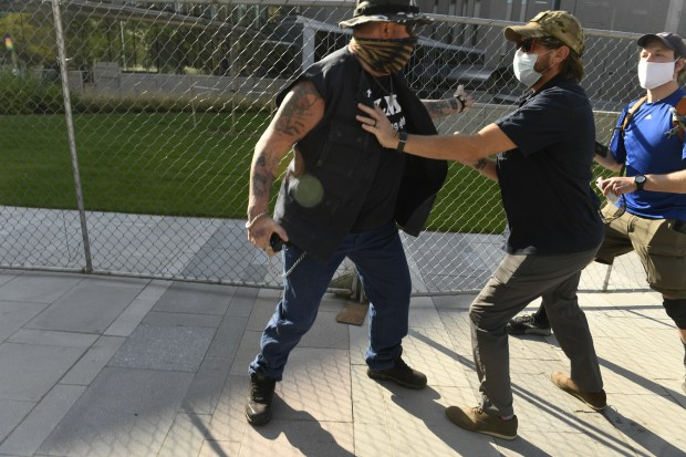 Attorneys in Denver protest shooting debate relevance of victim's right-wing affiliations 1