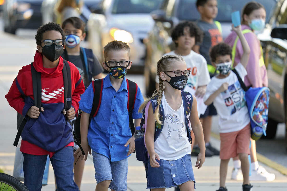 In Florida, Texas And Arizona, Defiant School Leaders Are Sticking With Mask Mandates 1