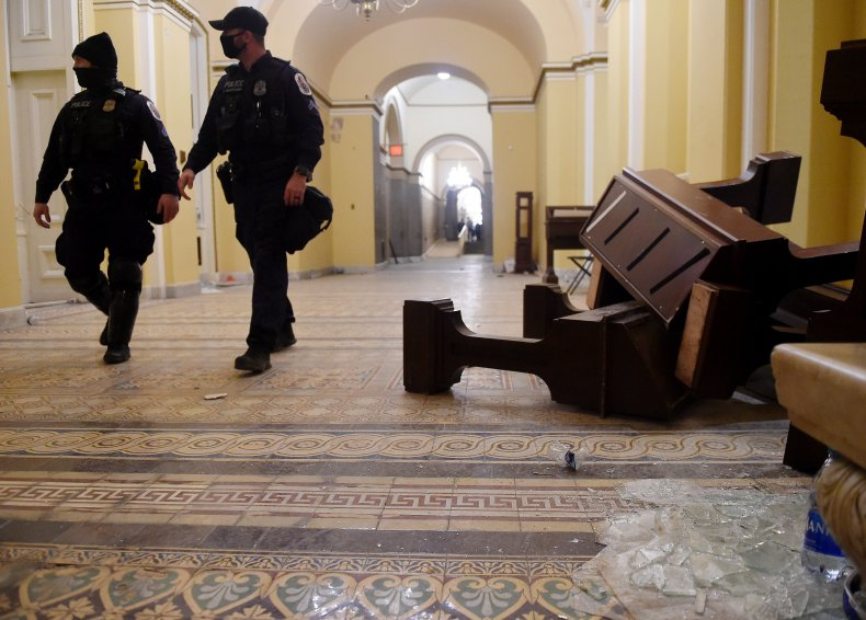 In Guilty Plea, Capitol Rioter Brad Rukstales Says He Was 'Careful' When He Threw Chair 1