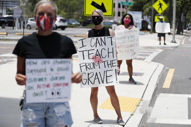 Police Intervene as Sides Clash After Florida School District Announces Mask Mandate 1