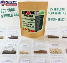 Heirloom vegetable seed kit with 35 varieties 10,000+ seeds seed bank seed vault