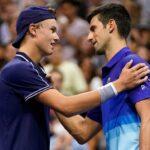U.S. Open: Denmark's Holger Vitus Nodskov Runeloses to Novak Djokovic but wins over fans 8