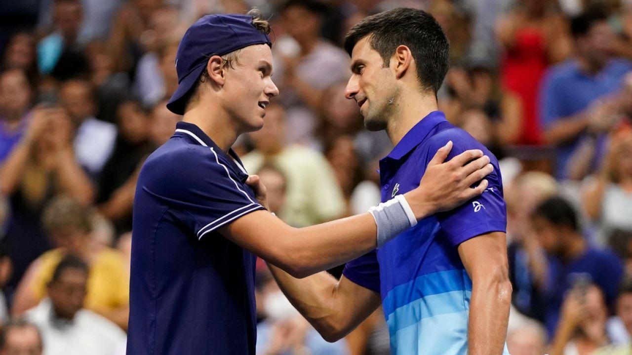 U.S. Open: Denmark's Holger Vitus Nodskov Runeloses to Novak Djokovic but wins over fans 1