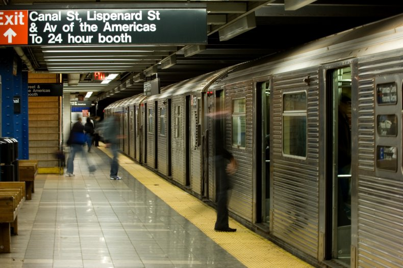 Ryan Bartels Identified as Subway Anti-Masker Who Repeatedly Yelled '1776' at Old Woman 1