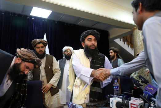 EU open to talks with Taliban but no plans to recognize 1
