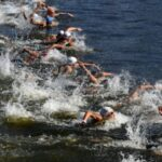 Flying Fish Leads a Lap of Women's 10K Open Water Final at Tokyo Olympics 4