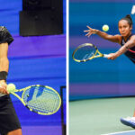 Canada's Felix Auger-Aliassime and Leylah Fernandez Arrive at U.S. Open 7