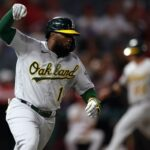 Oakland A's hang on to beat Los Angeles Angels in narrow victory, keep postseason window open 8