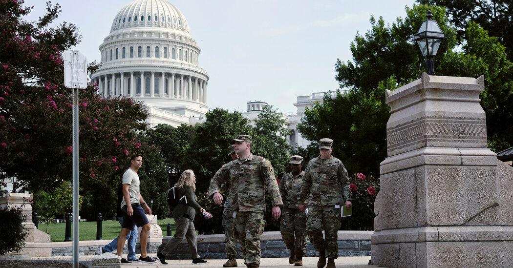 Washington, D.C., on Edge Over Protest of Jan. 6 Arrests 1