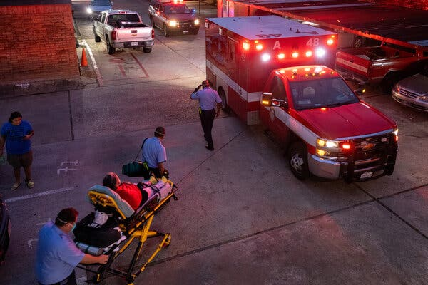 Average Daily Deaths From Covid-19 in the United States Surpass 2,000 1