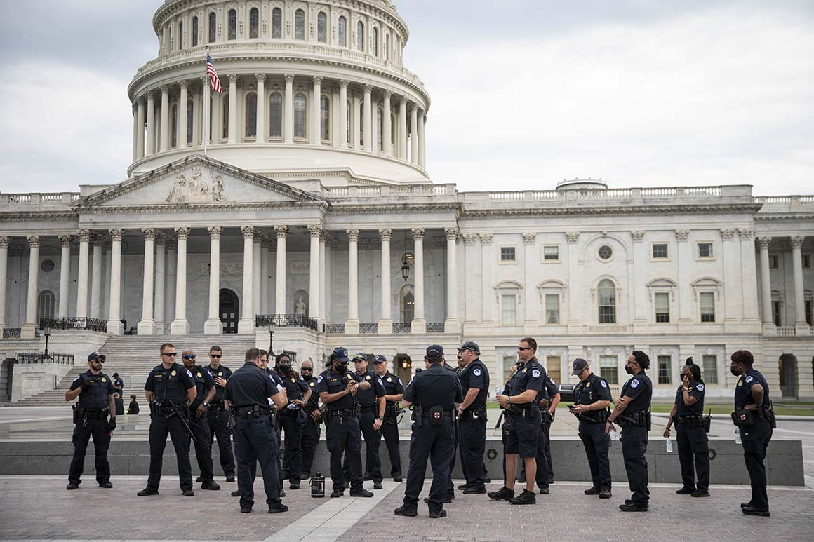 Capitol Police officers to get briefed on Sept. 18 rally against Jan. 6 arrests 1
