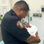 New Jersey officer catches 1-month-old baby thrown from 2nd floor balcony 7