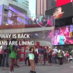 Fans line up for tickets as Broadway reopens 19