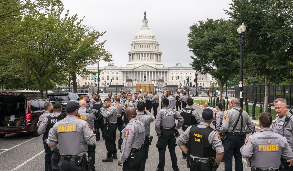 Capitol Police deputize outside law enforcement as special officers for 'Justice for J6' rally 1