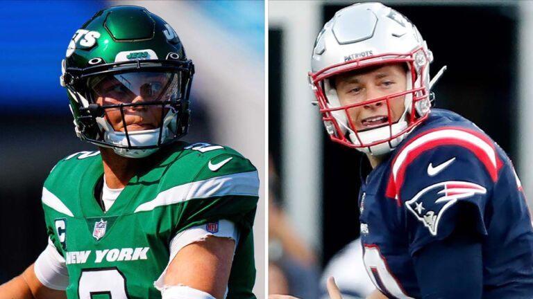 What to expect from the first of likely many matchups between the Patriots' Mac Jones and the Jets' Zach Wilson 1