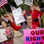 Mask, vaccine mandates fuel new round of tea party protests 13