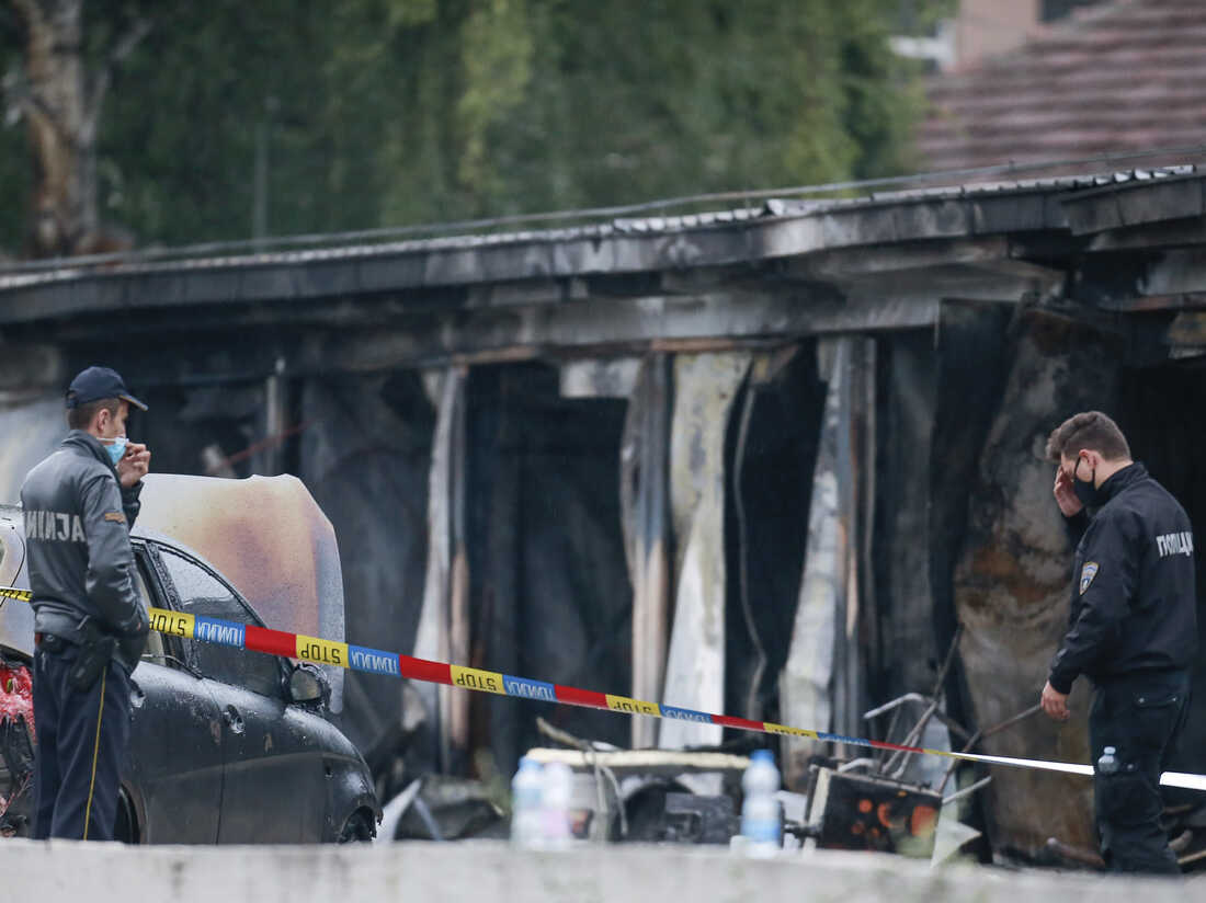 A Fire At A Field Hospital Set Up To Treat COVID-19 Patients Kills 14 People 1