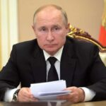 Russian President Putin Self-Isolates Due To A COVID-19 Outbreak Among His Staff 12
