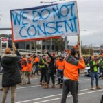 Vaccine Mandate Protests Lead to at Least 60 Arrests, Construction Shut Downs in Australia 7