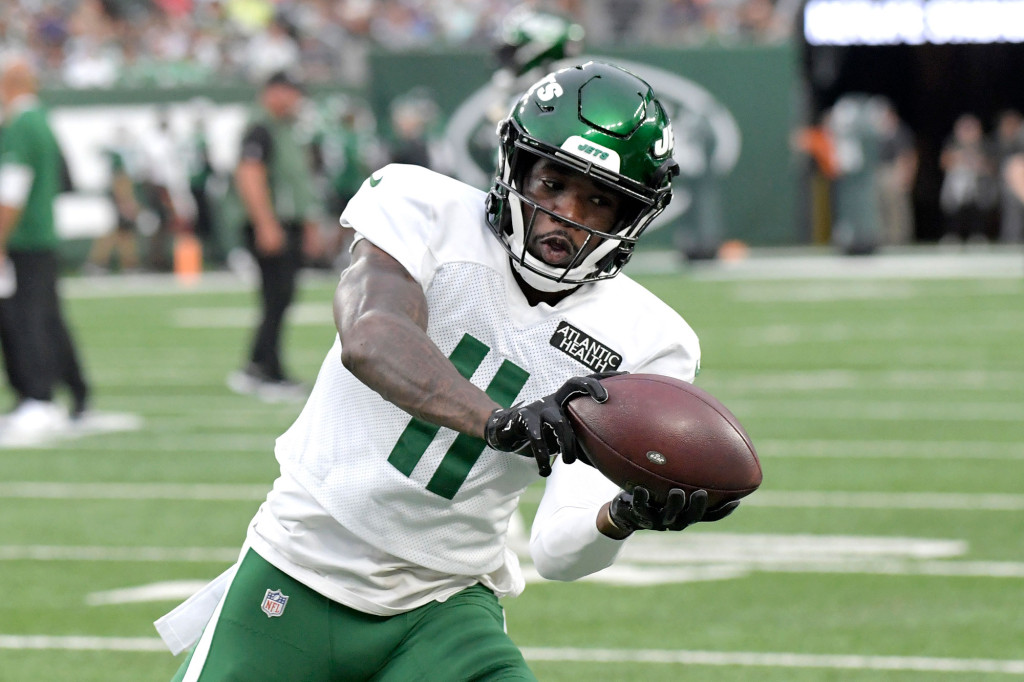 Jets' Denzel Mims inactive vs. Patriots in latest twist 1