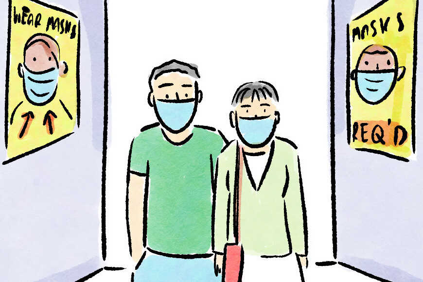 Readers Respond: What To Say If Someone Asks Why You're Wearing A Mask 1