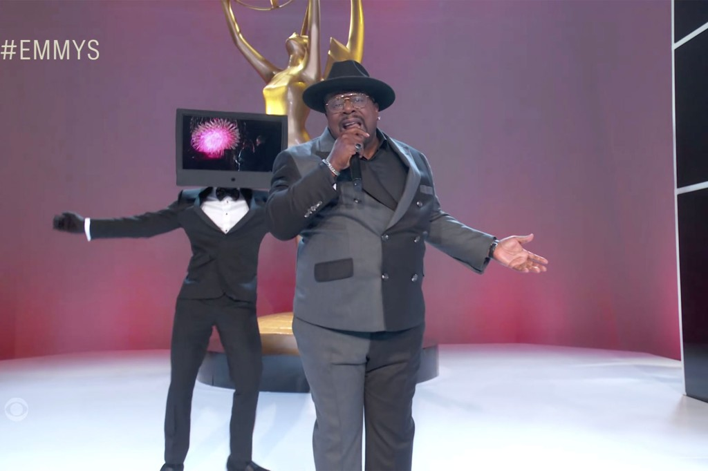 2021 Emmys open strong with Cedric the Entertainer's rap monologue 1