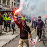 Anti-Vaccine Protesters Clash With Police In Melbourne, Australia, For The 2nd Day 1