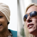 Ilhan Omar Calls Marjorie Taylor Greene 'Hypocrite Cult Leader' Over Masked Airplane Photo 5
