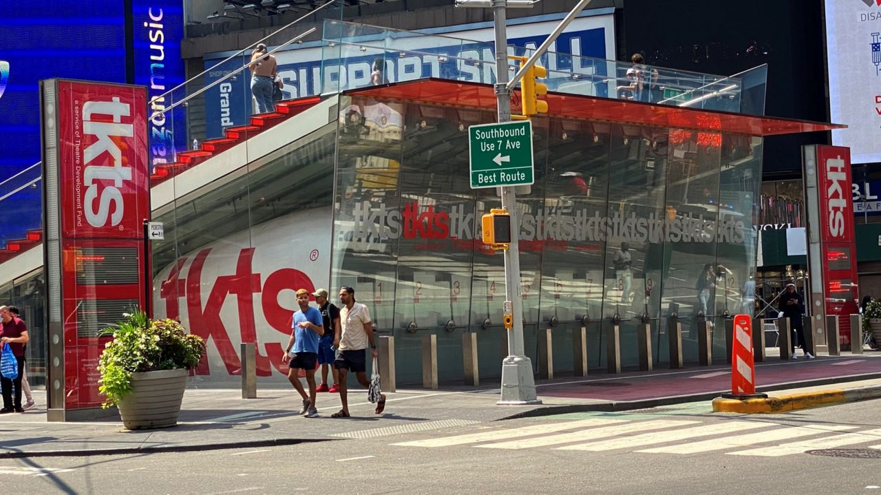 TKTS discount ticket booth to reopen in Times Square Sept. 14 1