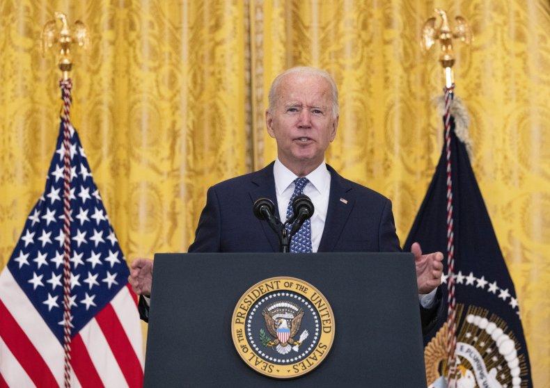 Biden Calls Out Conspiracy Theorists, 'Bullies' DeSantis and Abbott in COVID-19 Address 1